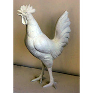 Bird – Rooster Walking | Fiberglass Animal