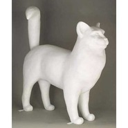 Cat - Large Standing | Fiberglass Animal