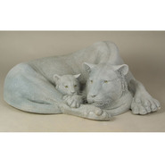 Tiger - Mother with Cub | Fiberglass Animal