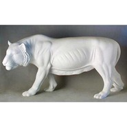 Tiger - Walking | Fiberglass Animal