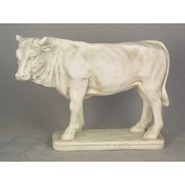 Steer   - Table Top Standing on Base | Fiberglass Animal