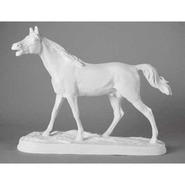 Horse - Table Top Running on Base | Fiberglass Animal