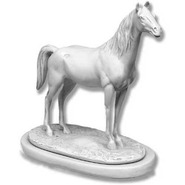 Horse - Table Top Standing on Base | Fiberglass Animal