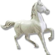 Horse - Midsize & Table Top Prancing | Fiberglass Animal