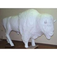 Buffalo - Large | Fiberglass Animal