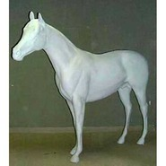 Horse - Thoroughbred Standing | Fiberglass Animal
