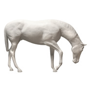 Horse - Thoroughbred Grazing | Fiberglass Animal