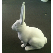 Rabbit - Oversize Sitting | Fiberglass Animal