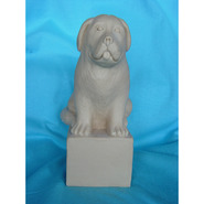 Dog - Newfoundland - Souvenir Size on Pedestal  | Fiberglass Animal