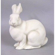 Rabbit - Table Top Sitting | Fiberglass Animal
