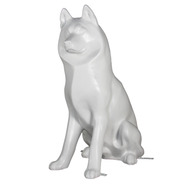 Dog - Husky - Lifesize Sitting | Fiberglass Animal