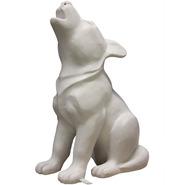 Wolf - Howling Pup | Fiberglass Animal