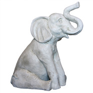 Elephant - Small Sitting | Fiberglass Animal
