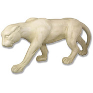 Jungle Cat - Stalking    Fiberglass Animal