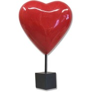 Heart - Table Top | Fiberglass Animal