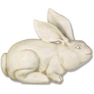 Rabbit - Table Top Crouching | Fiberglass Animal