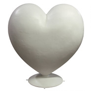 Heart - Large Puffy | Fiberglass Animal