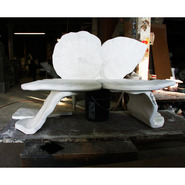 Morning Glory Bench | Fiberglass Animal