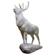 Elk on Coal | Fiberglass Animal