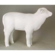 Sheep - Lamb | Fiberglass Animal