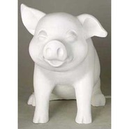 Pig - Whimsical Piglet | Fiberglass Animal
