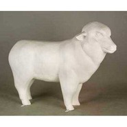 Sheep - Table Top Merino | Fiberglass Animal