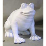 Frog - Large Crouching | Fiberglass Animal