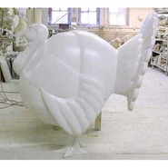 Bird - Turkey - Giant | Fiberglass Animal
