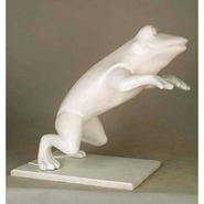 Frog - Table Top Jumping | Fiberglass Animal