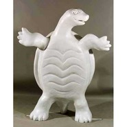 Turtle - Box - Oversize Standing | Fiberglass Animal
