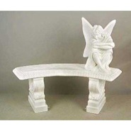 Fairy Bench & Fairy | Fiberglass Animal