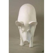 Pig - Large Standing - Ears Up | Fiberglass Animal