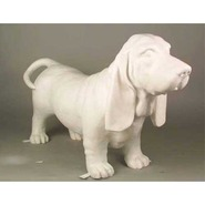 Dog - Basset Hound Standing | Fiberglass Animal