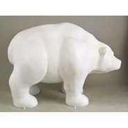 Bear - Stylized - Large Walking | Fiberglass Animal