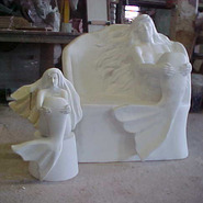 Mermaid Bench | Fiberglass Animal