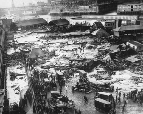 I know it is sad - but it's not like things were that great BEFORE the flood.  It was Boston after all.