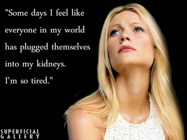 Gwyneth Paltrow on Other People - Superficial Gallery