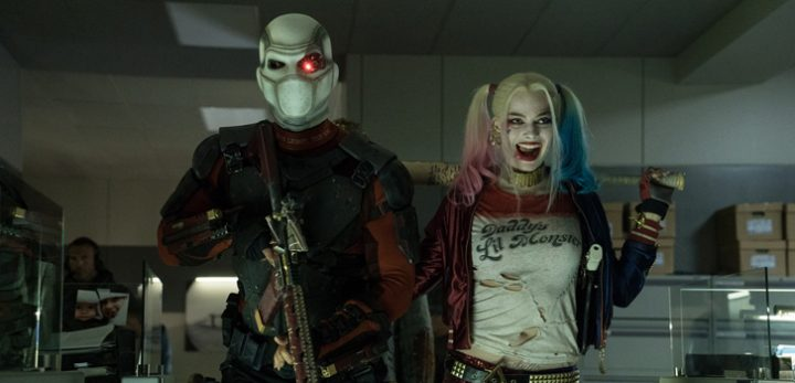 Deadshot and Harley Quinn from Suicide Squad