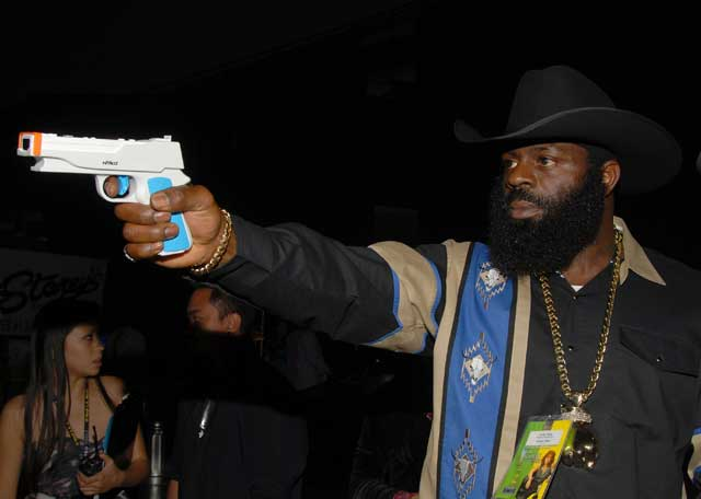 Kimbo knows this gun is not real. You should also know Kimbo would kill you with it somehow.