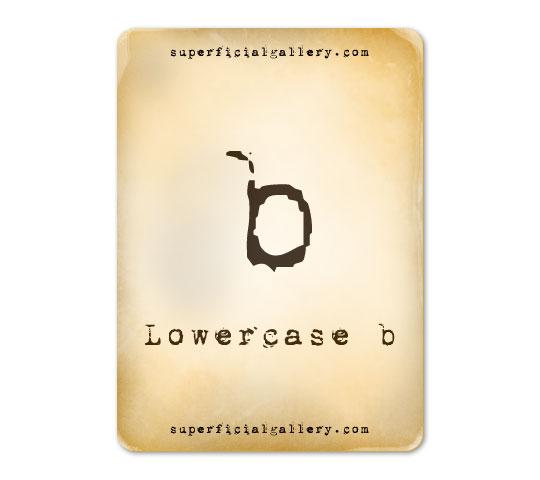 lowercase-b