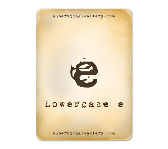 lowercase-e8