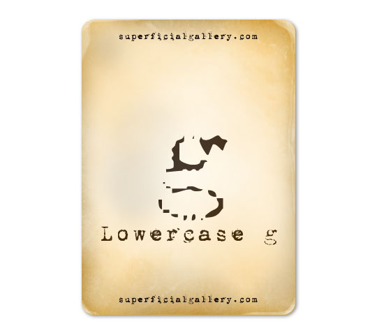 lowercase-g