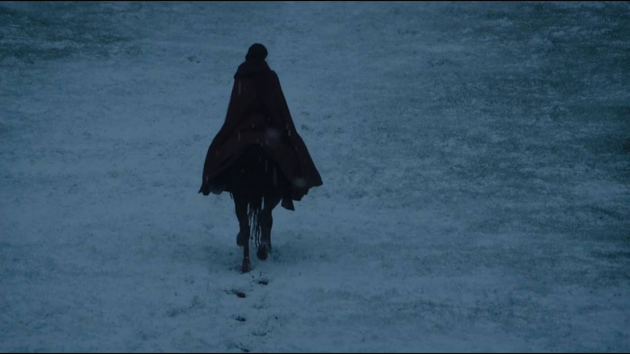 melisandre leaving