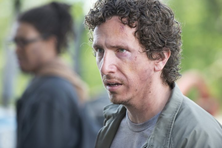 Michael Traynor as Nicholas - The Walking Dead _ Season 6, Episode 1 - Photo Credit: Gene Page/AMC