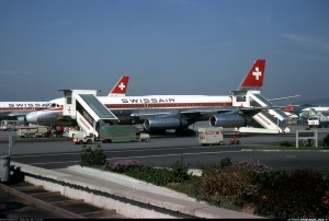 Swissair Convair 990 in Zurich
