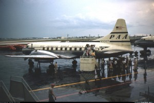 Convair 240 boarding in Miami, FL in June 1953