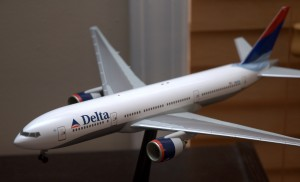 Delta 777 Herpa 1:200 scale model