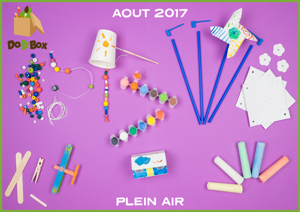 Box Août 2017 : Plein Air