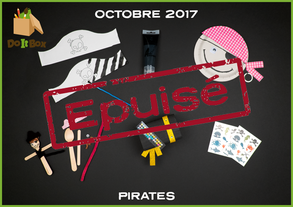 Box Octobre 2017 : Pirates