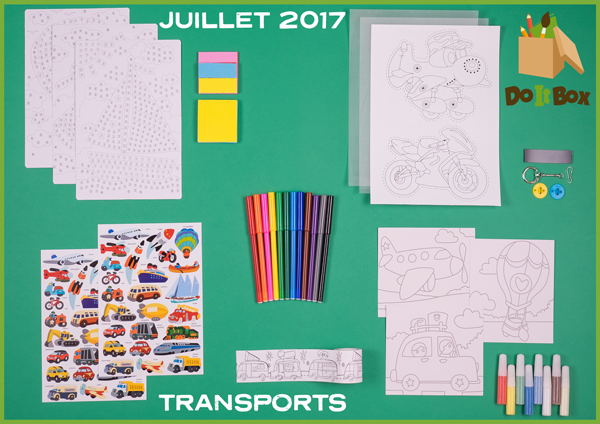 Box Juillet 2017 : Transports